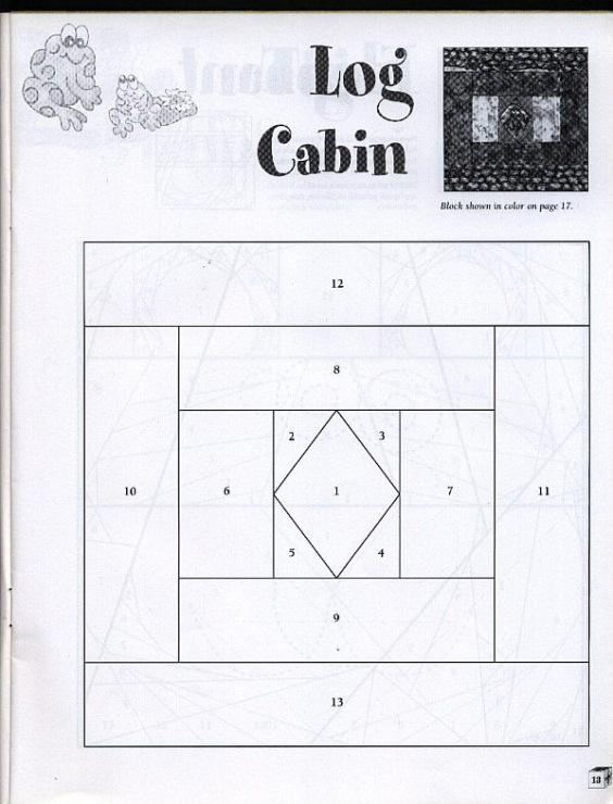 Шаблоны схем лоскутного шитья