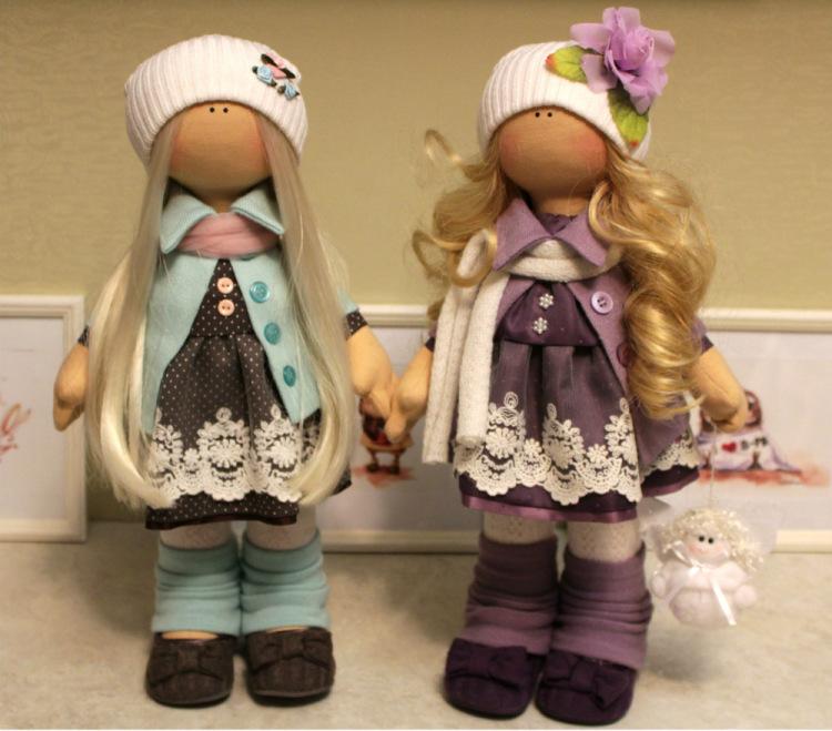 Текстильная кукла от макушки до пяточек: публикации и мастер-классы
