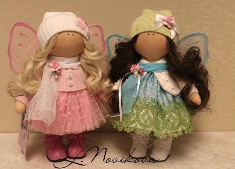 Кукла из ткани сшитая 60