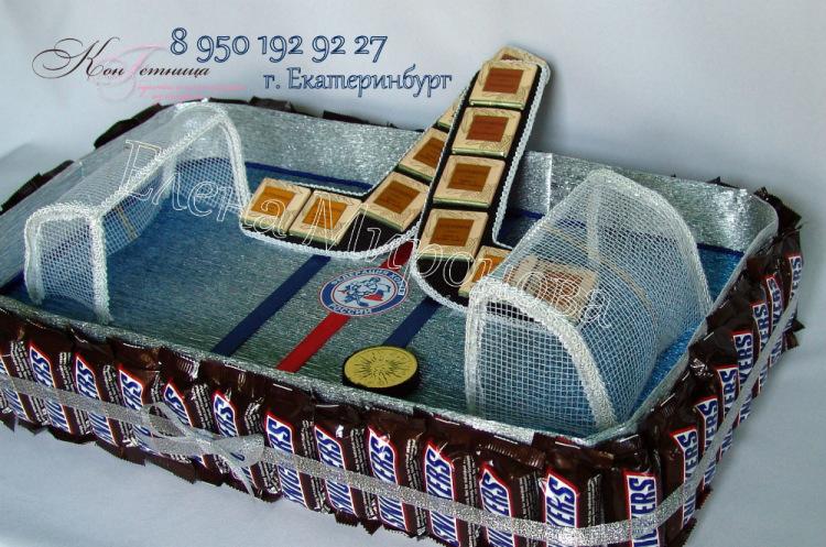Сладкий подарок хоккеисту 81