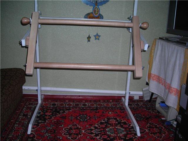 Станок для вышивания из труб пвх  размеры 200