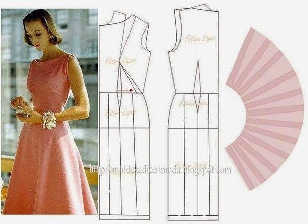 Как сшить себе классическое платье