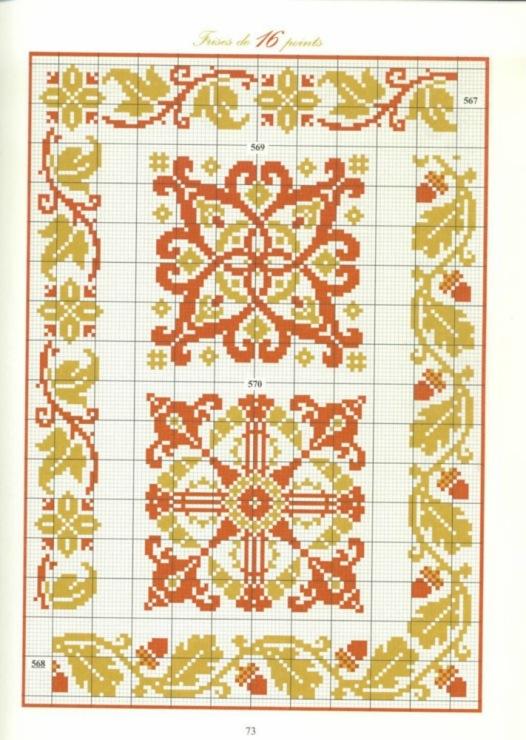 Вышивка схемы узоры старинные салфетки