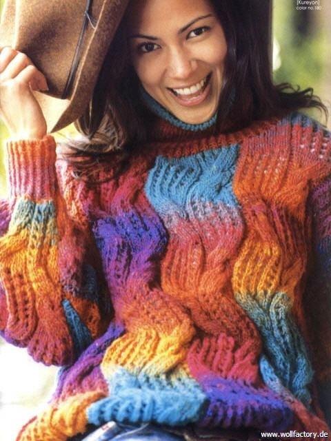 Нитки для вязания кофт