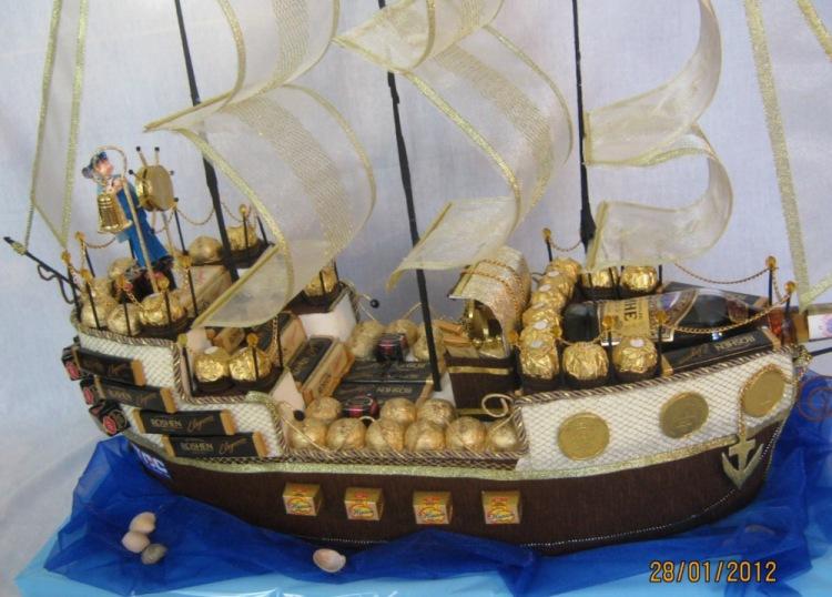 Свит дизайн мастер класс корабль