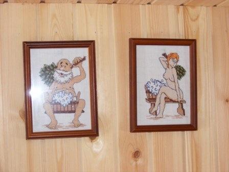 Как украсить баню