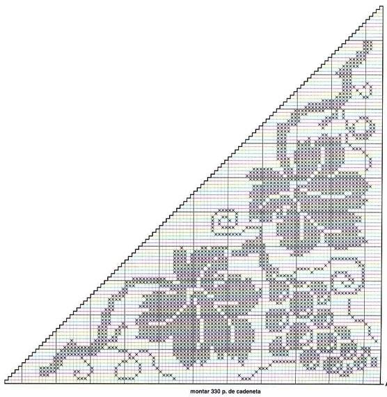 钩针:各种各样的叶子—5(网格) - maomao - 我随心动
