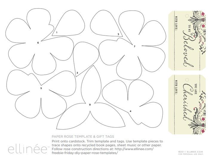 Как сделать шаблоны цветов