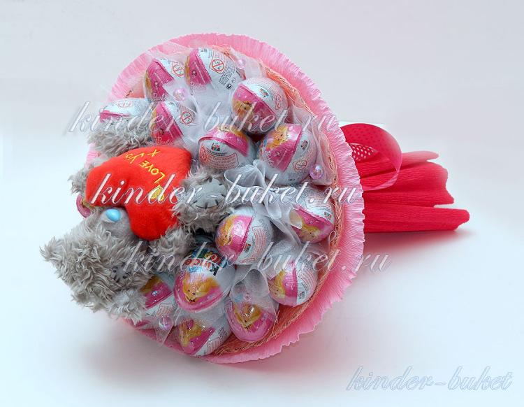 Букет из конфет своими руками киндер 20