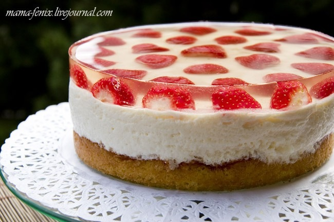 Фруктовий торт рецепт з фото
