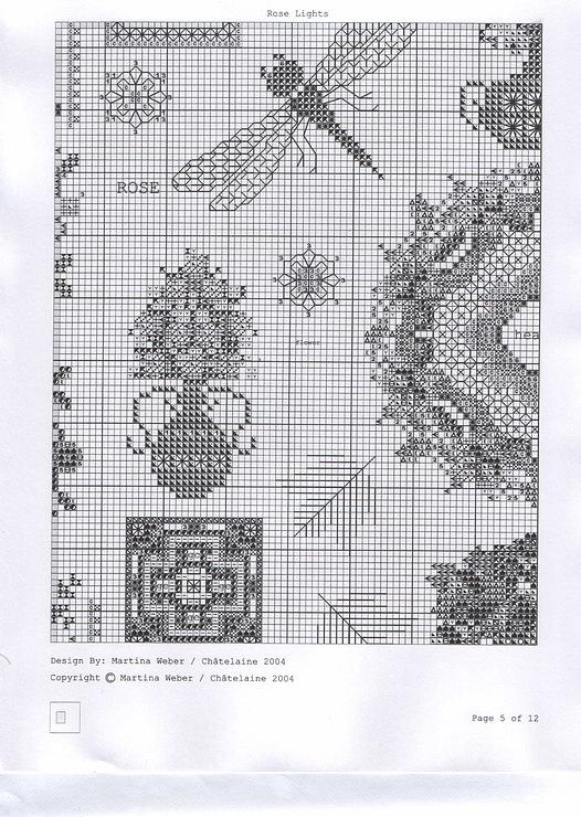 Мартина Розенберг (Вебер ) - Mandala Gardens Chatelaine Вышиваю. ру