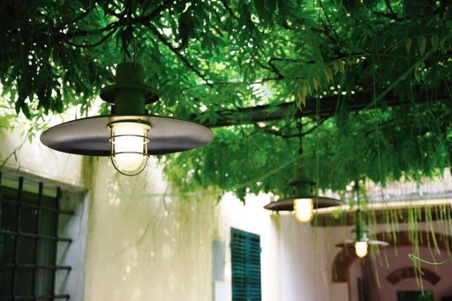 Светильник для дачи фото