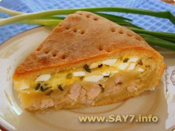Рецепт пирожков с мясом и яйцом