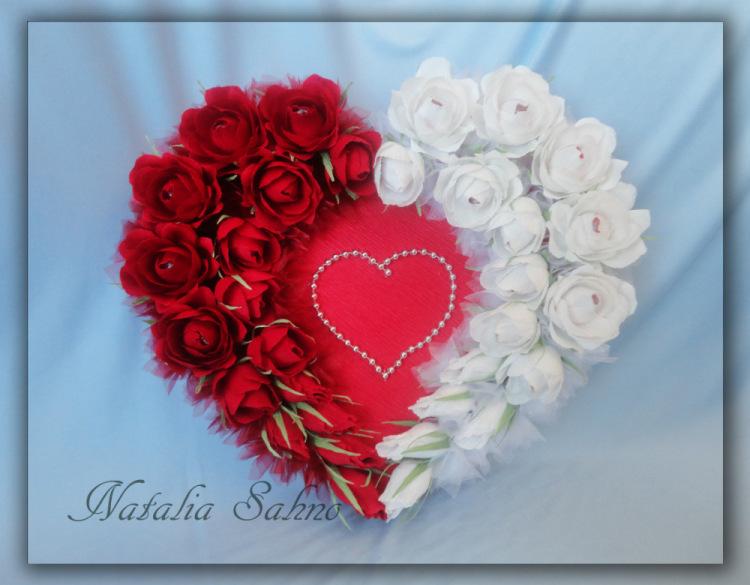 Мастер класс свадебное сердце 5