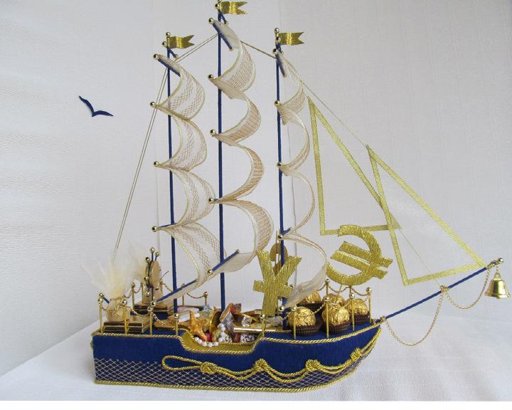 Корабль в подарок символизирует 87