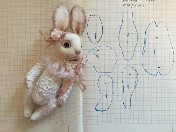 Фото выкройки зайца