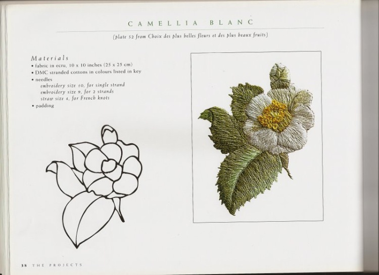 Вышивка гладью цветов фото с описанием схем 18