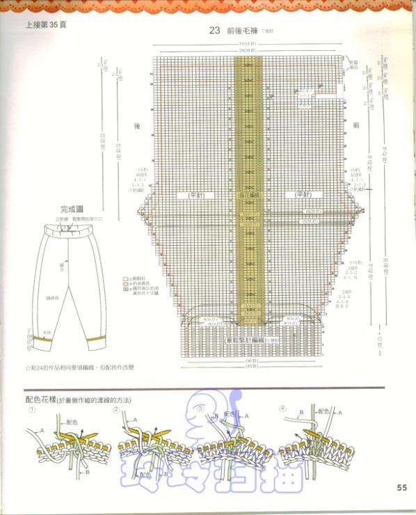 Вязание крючком для новорожденных схемы и описание штанишек