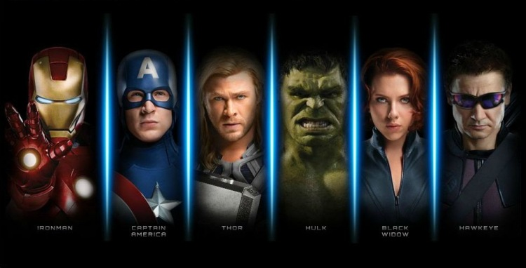 The avengers 2 spiderman poster
