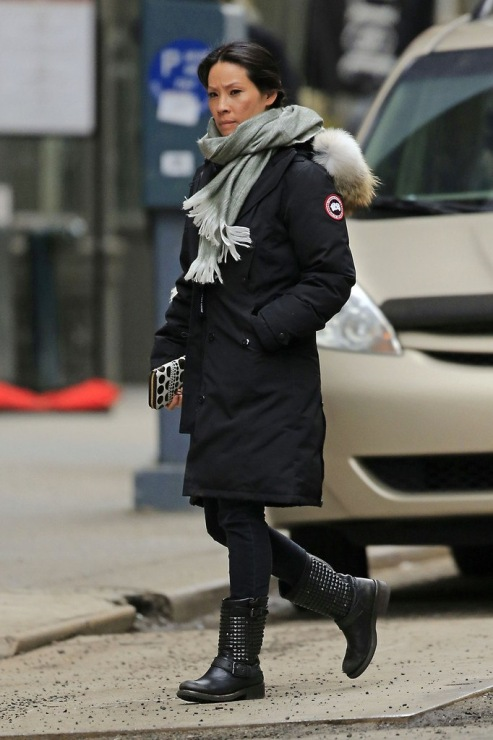 Canada goose parka celebrity