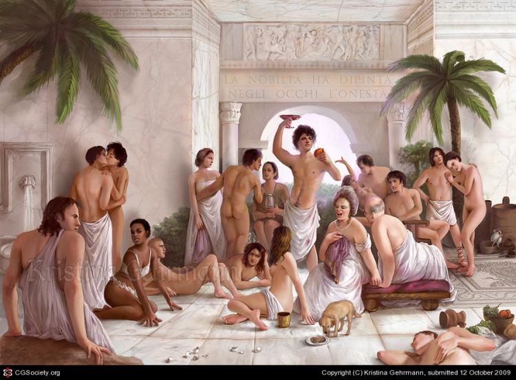 Римские оргии фото