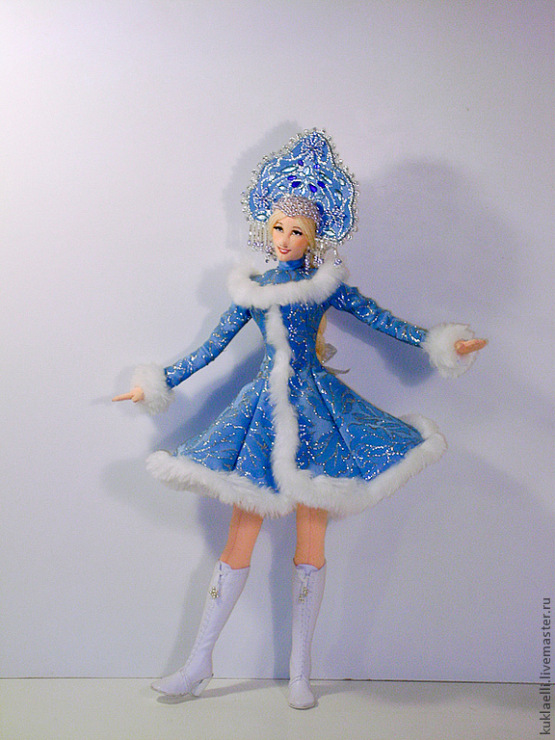 Сшить куклу снегурочки своими руками