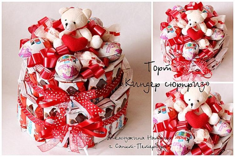 Подарки с конфетами своими руками мастер класс