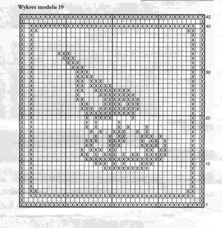 Вышивка схема маленькая монохром