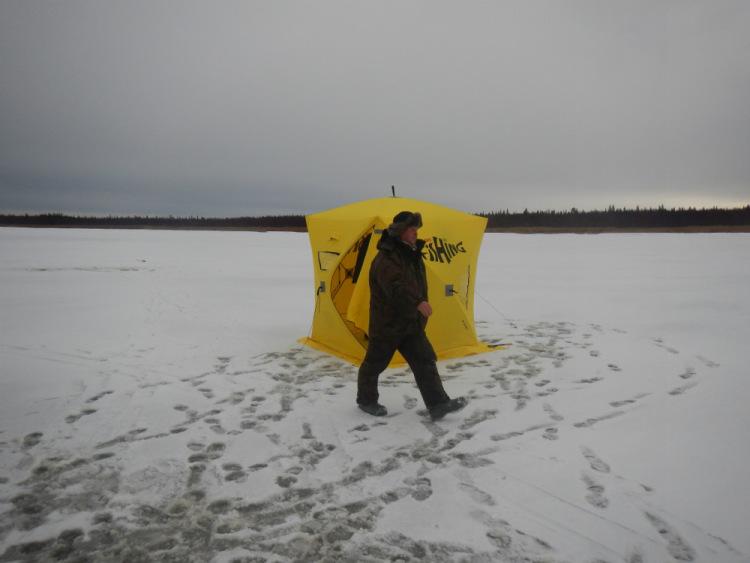 на севере рыбалка в уне в луде